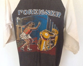 Authentic FOREIGNER 1980 Live in Concert t-shirt