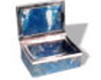 Rectangular Lapis Lazuli or Malachite Boxes