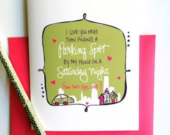 City Love Greeting Card