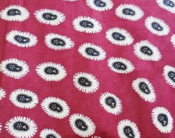 Fat Quarter High Quality Vlisco African Fabric, Ethnic Block Print, Cotton Wax Hollandais, Boho Decor, African Clothing, Quilting Patchwork