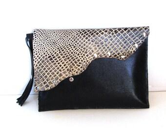 MYSELF - Handmade leather bag/Clutch