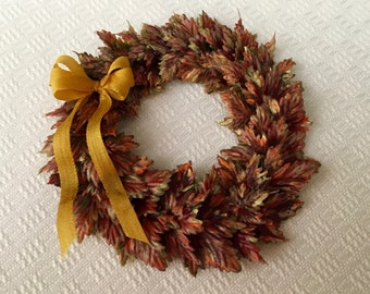 Large Autum  Leaf Wreath