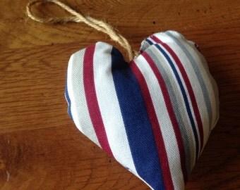 Fabric heart.