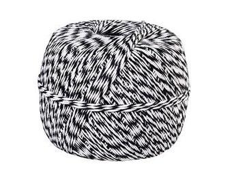 Black & White Baker's Twine