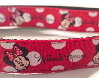 Minnie Mouse inspired collar