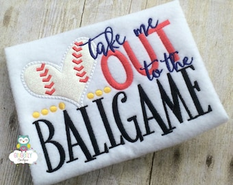 Take me out to the Ballgame Shirt, Baseball Season, Softball Season, Love of Baseball, I Love Baseball, Out of Your League, Baseball