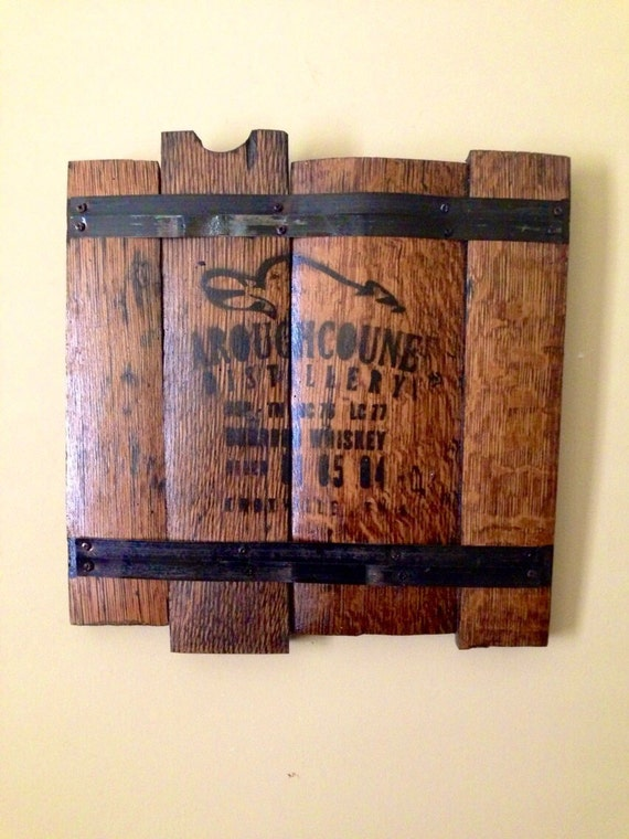 Whiskey Barrel Wall Decor
