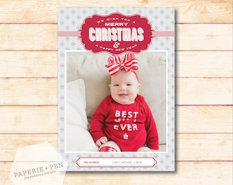 Wish you a Merry Christmas  // Holiday Photo Card