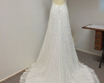 Lace Wedding Dress | Ivory Bridal | Made with love |