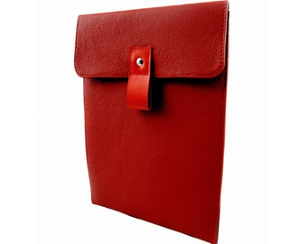 Red Leather iPad Air Case