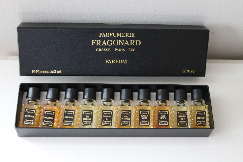 vintage nouveau coffret de parfum parfumerie fragonard grasse. Black Bedroom Furniture Sets. Home Design Ideas