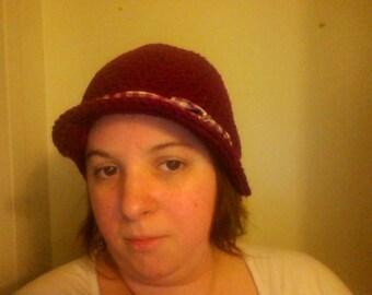 Newsboy Ribbon Hat