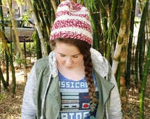 Knitting Pattern - Super Slouchy Hat - Teen/Adult Sized