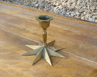 Sweet little star base candlestick