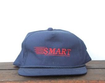 Vintage Smart Money Dollar Sign Trucker Hat Snapback Baseball Cap