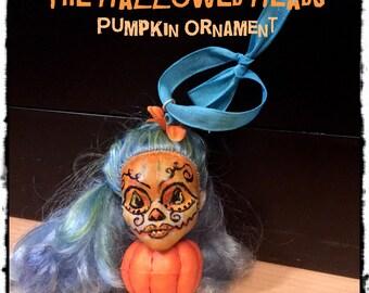 The Hallowed Heads Pumpkin Ornament