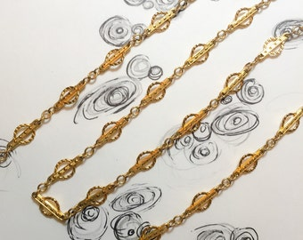 Unique Vintage 12k GF Chain