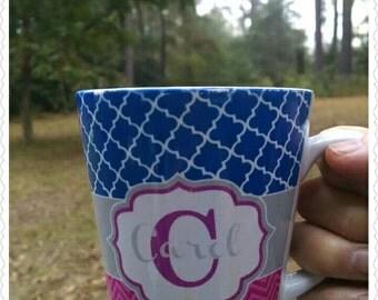 Latte Coffee Mug/Personalized Moms Mug/Custom Coffee Mug/Design your own mug/Unique Coffee Mug/Coffee Lover Mug/Personalized Latte Mug/Mug