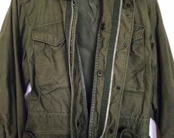 Army Green // Military Style Jacket