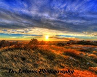 Badlands Sunset, South Dakota