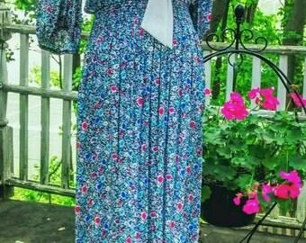 Belle France Jane Schaffhausen Vintage Dress