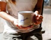 13 oz Hand Lettered Kentucky Stoneware Campfire Mug