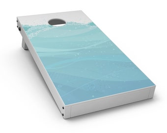 Abstract WaterWaves - Cornhole Board Skin Kit