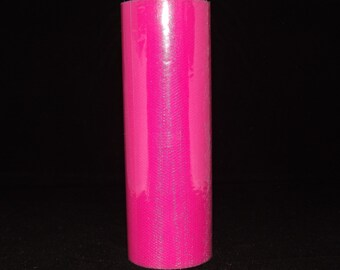 Hot Pink Tulle 15 yards long x 6 inches wide #110et