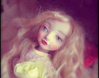 OOAK art doll vintage style 1930s Marie