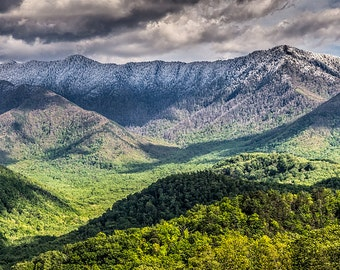 SALE! April Snow in the Smoky Mountains Fine Art Photo from William Britten