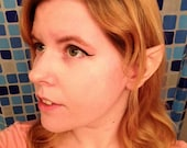 Custom painted vulcan/hobbit ears