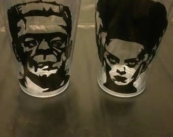 SALE ITEM: Frankenstein' monster & bride set