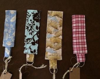 Beautiful hand-sewn Key Fobs