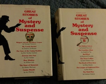 Great Stories of Mystery and Suspense 2 volumes