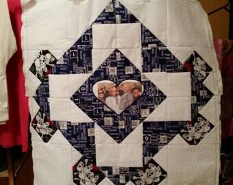 Custom made Photo Quilt 2
