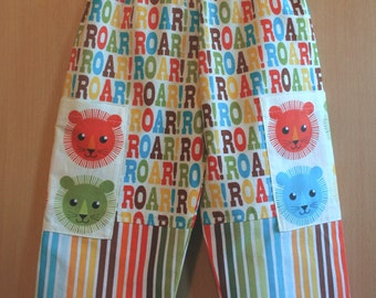 ROAR! Lion Toddler Trousers Aged 2-3years