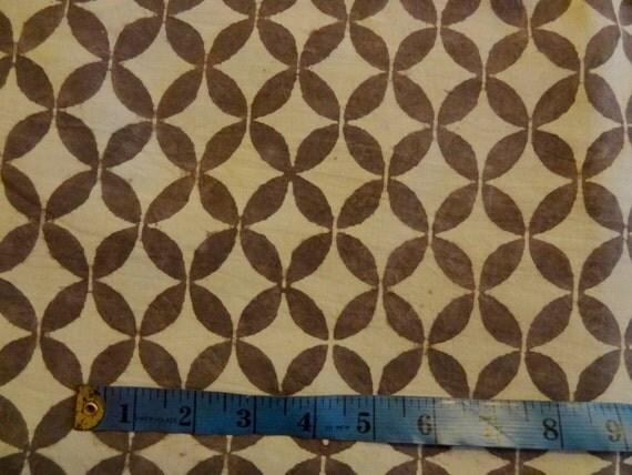 Block print fabric floral print mudblock print home decor for Modern home decor fabric prints