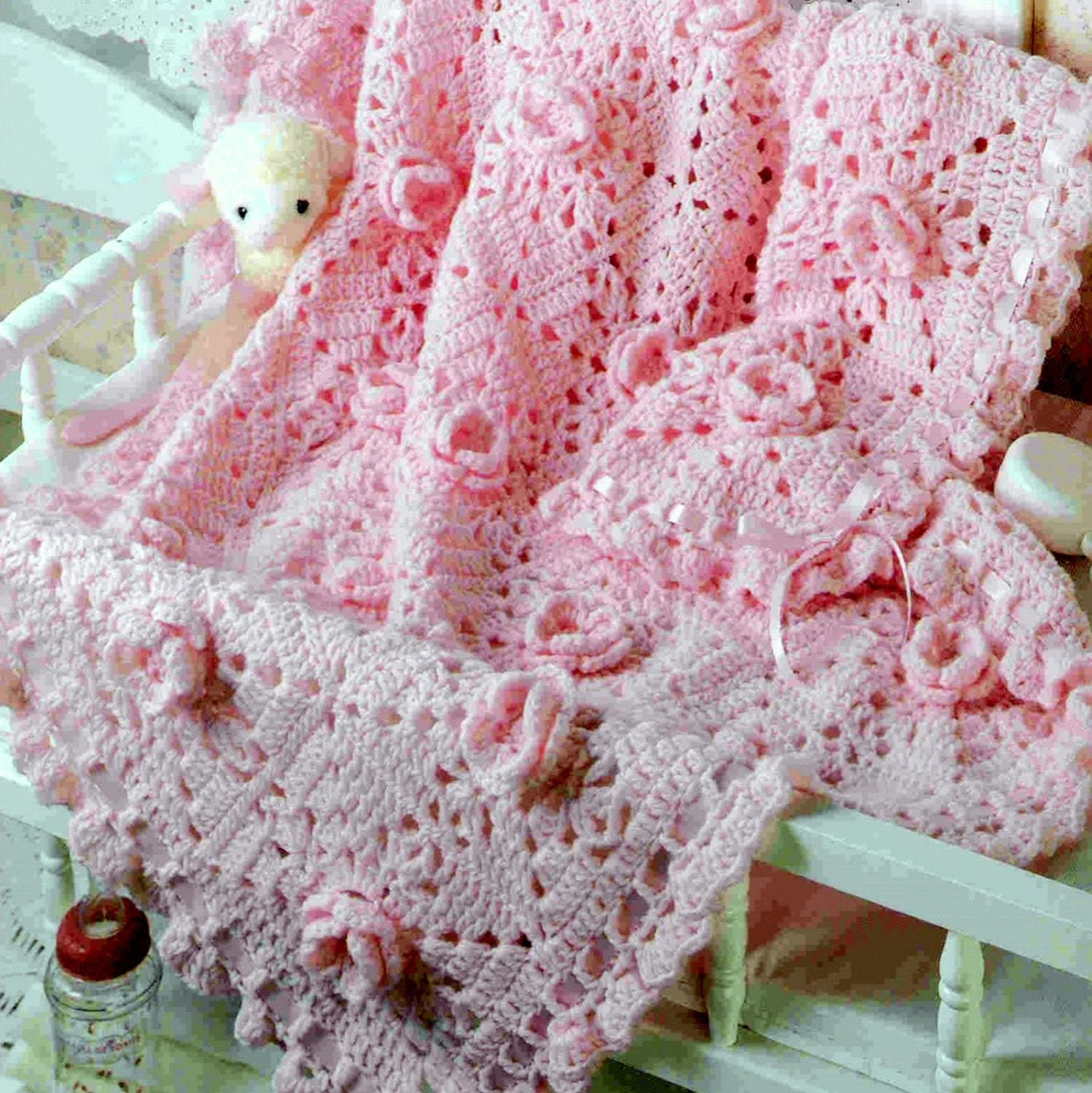 how to make a baby cot blanket