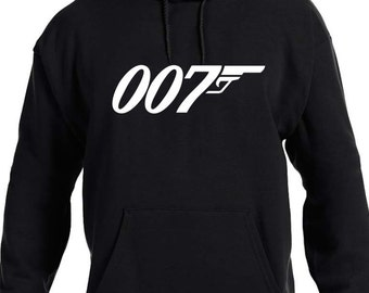 007 James Bond Hoodie - Youth - Adult Sizes