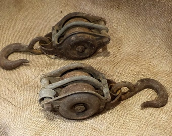 Antique Pulley, Old Metal Industrial Factory Salvage, Industrial Factory Chic