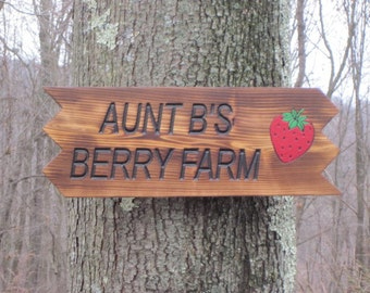Garden Sign, Personalized sign, Custom sign, Handmade Rustic Wood Garden Sign, Rustic Finish