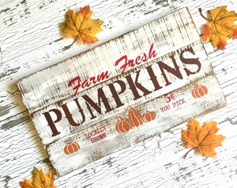 Fall Pallet Sign - Pumpkin Orchard Pallet Sign - Farmhouse Wood Sign