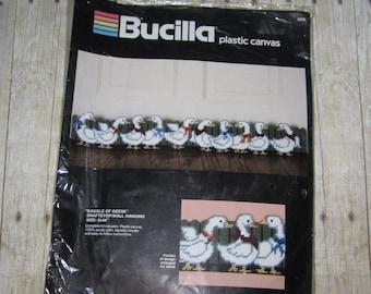 Bucilla 5998  Gaggle of Geese Needle Kit