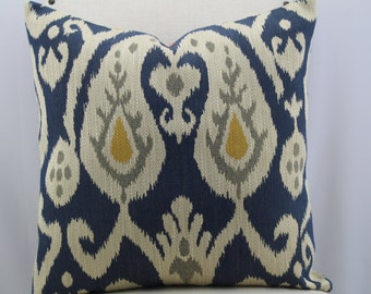 Neopolo ikat by Kravet pillow cover,18x19,19x9,20x20,22x22,decorative pillow throw pillow ,same fabric on both sides