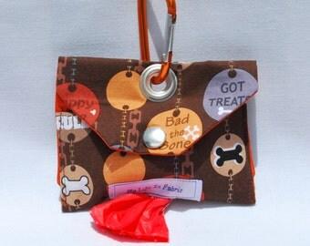 Dog Poop Bag Dispenser Dog Poo Bag Dog Mess Bag Waste Bag Dispenser Brown Dogs Rule