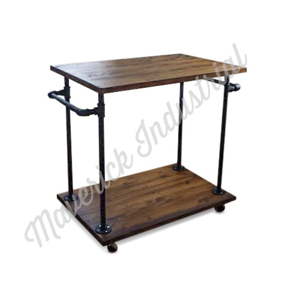 Industrial Kitchen Trolley: Industrial Kitchen Cart Bar Cart Serving By MaverickIndustrial