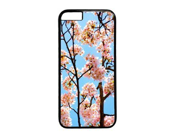 New Cherry Blossom Cute Pattern Case Cover for iPhone 4  4s 5 5s 5c 6 6s  6 Plus iPod Touch