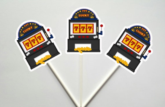 slot machine toppers