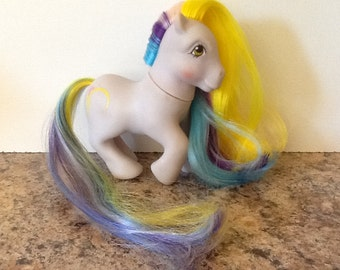 G1 My Little Pony RINGLETS: Brush n' Grow Earth Pony