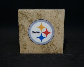 Pittsburgh Steelers (4-Pack) - Tile Magnets 1-3/4 x 1-3/4